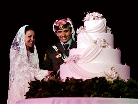 Принц Хусейн из Иордании и Нура