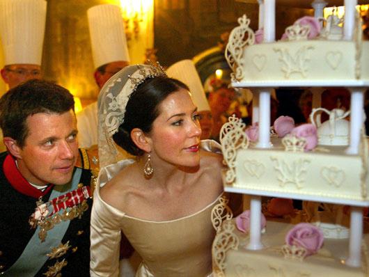 Принц Фридрих Дании и Мэри Дональдсон