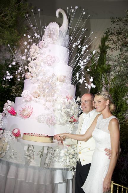 Alberto de Monaco and Charlene Wittstock