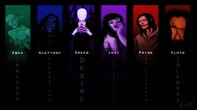 Die besten Creepypastas Charaktere