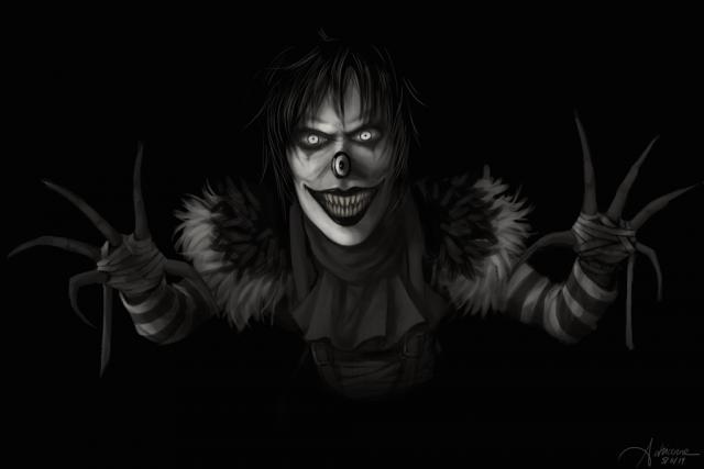 Jack lacht
