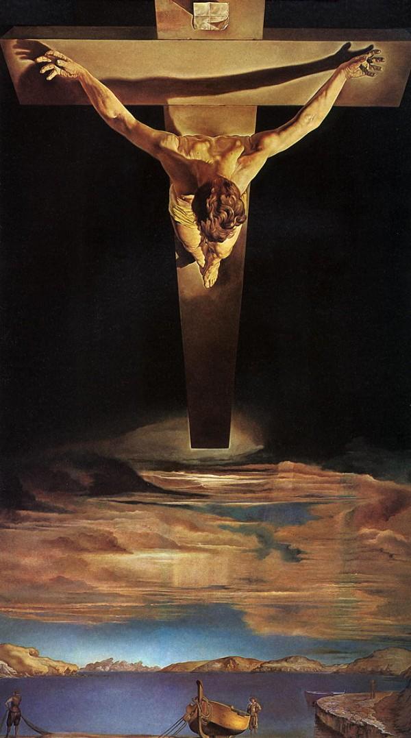 Христос Святого Иоанна Креста (Сальвадор Дали)
