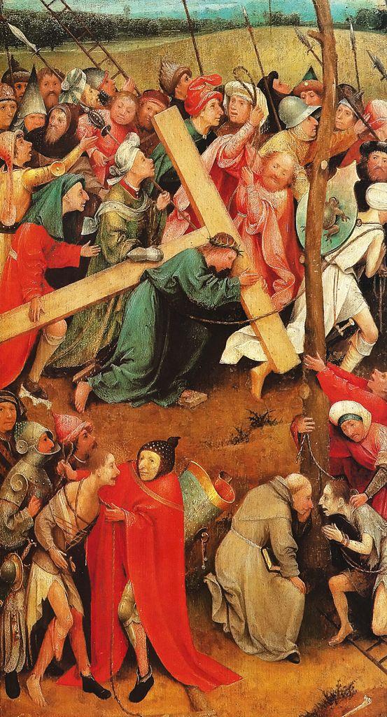 Христос с крестом на спине (Эль Боско)