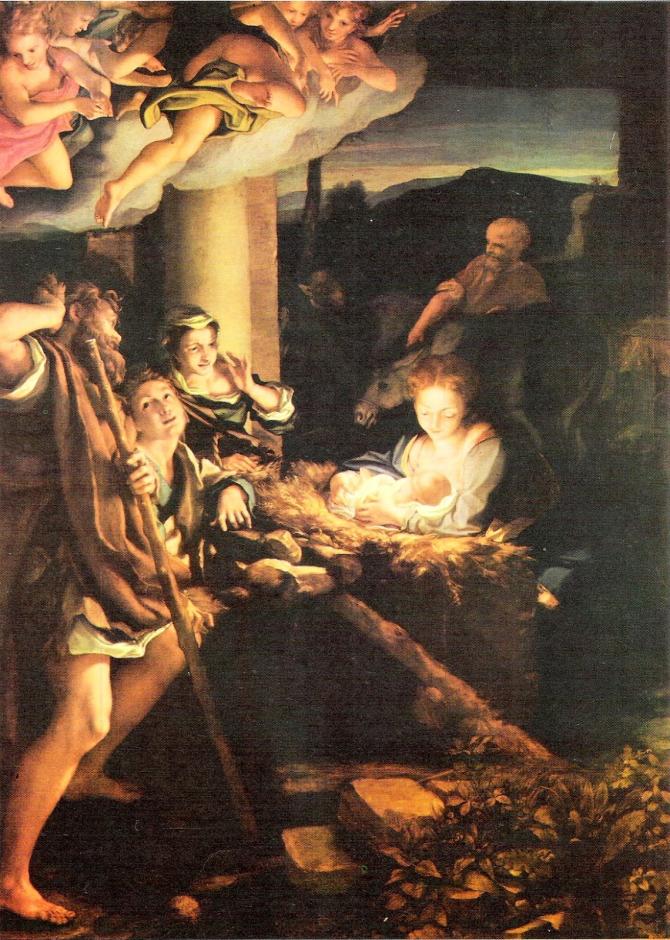 Поклонение пастухов (Антонио Аллегри да Корреджо)