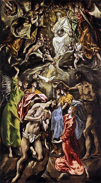 Крещение Христа (Эль Греко)