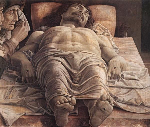 Lamentation over dead Christ (Andrea Mantegna)