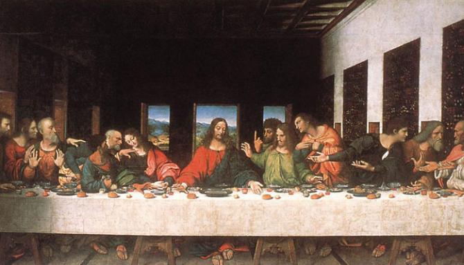 The Last Supper (Leonardo da Vinci)