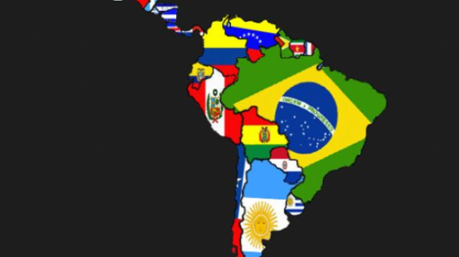 The most beautiful flags of Latin America