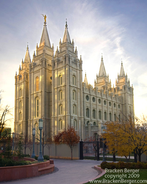 Temple de Salt Lake City (États-Unis) (Mormon)