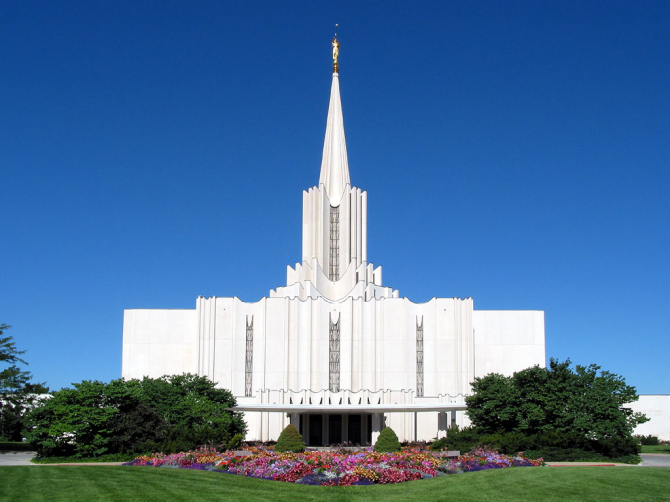 Temple du Jourdain, Utah (Mormon)