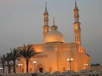 Temple (mosque) of Dubai (Islam)