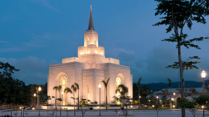 Temple of San Salvador (Mormon)