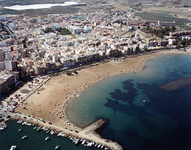 Пляж Пуэрто де Мазаррон (Mazarrón)