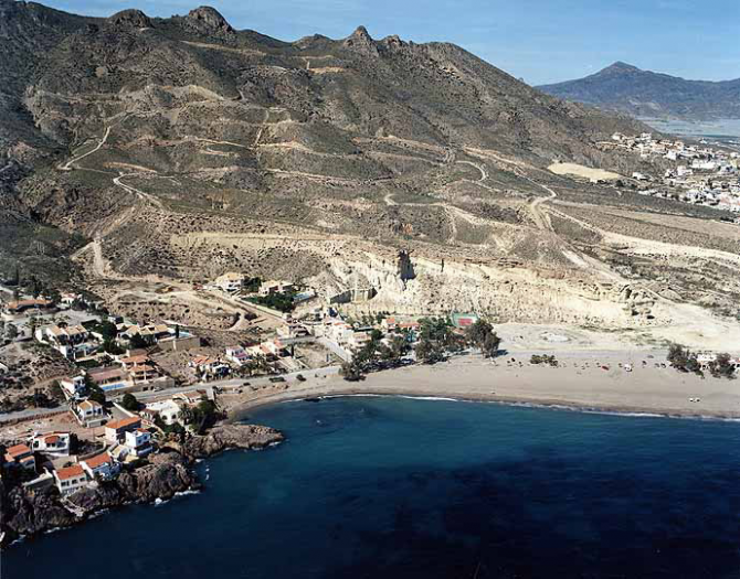 Playa de Bolnuevo (Mazarrón)