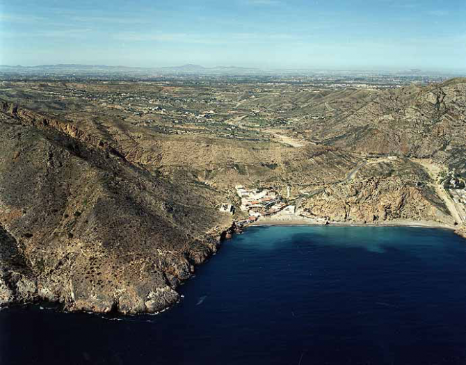 Playa de El Portús (Cartagena)