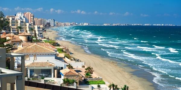 Praia La Manga (Cartagena e San Javier)