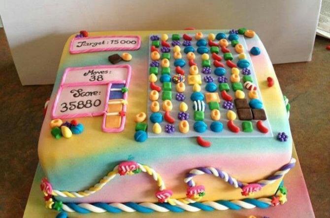 Dành cho những người 'sống trong Candy Crush'