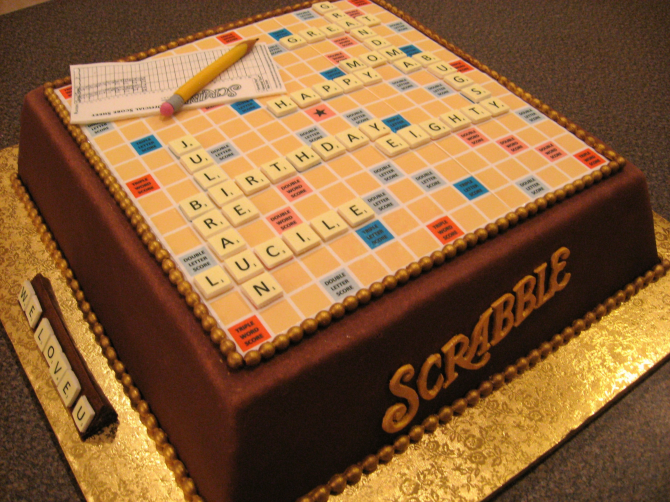 For the crazy people of Scrabble