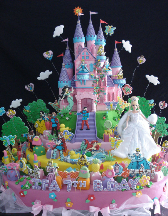 For the Disney princesses
