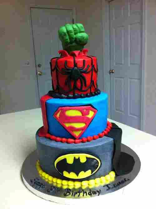 Para el super-héroe de la casa