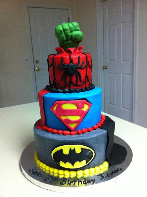 Para o super-herói da casa