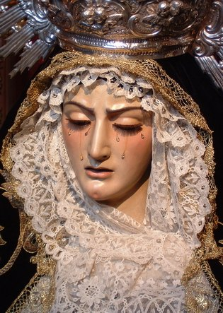 virgin of the greatest pain
