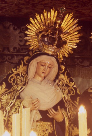 Virgin of the greatest pain and transfer