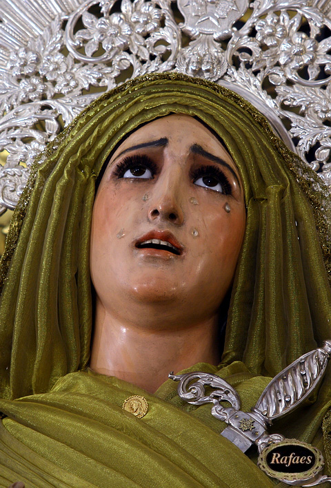Virgin of the solitude of San Buenaventura