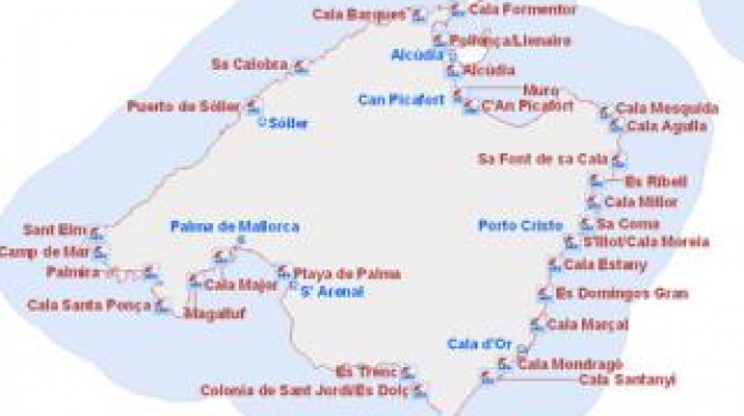 Best coves and beaches of Mallorca