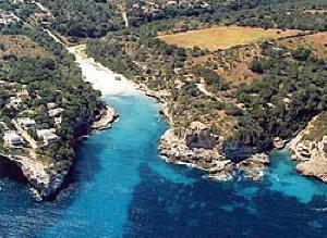 Cala Llombards (Santanyí).