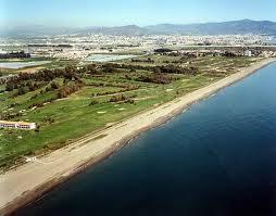 Поле для гольфа Пляж