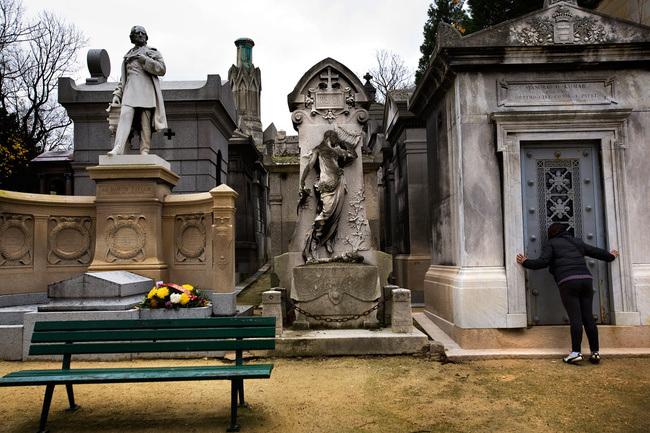 Cemetery of Père-Lachaise (France)