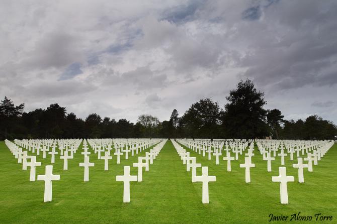 Cimetière américain de Normandie (France)