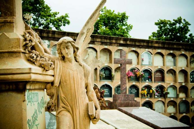 Cimetière de Poblenou (Espagne)