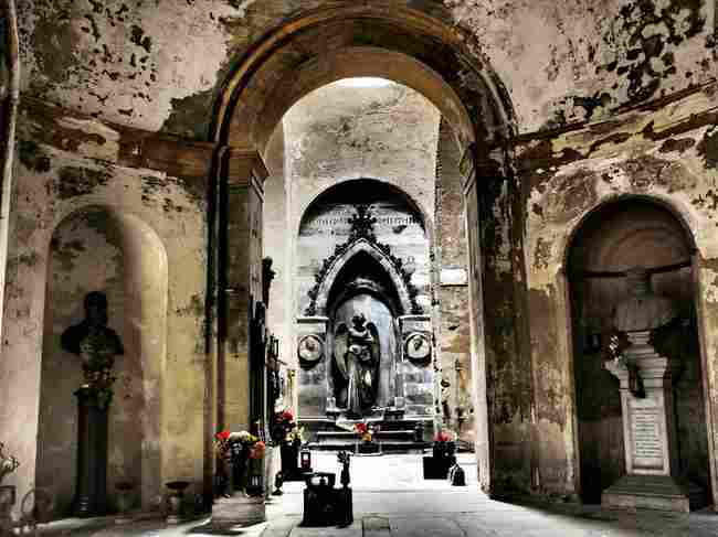 Monumental Cemetery of Staglieno (Italy)