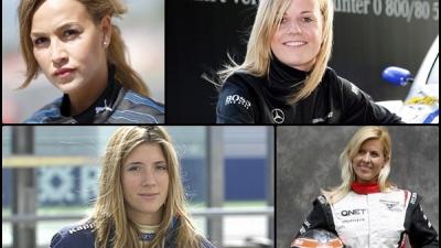 Tolle Frauen in der Welt des Motorsports