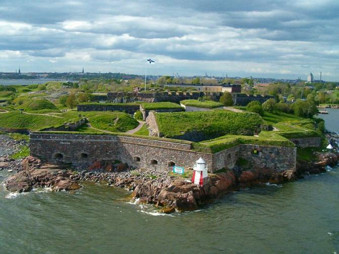 Суоменлинна крепость