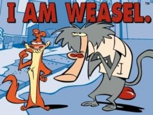 I am the weasel