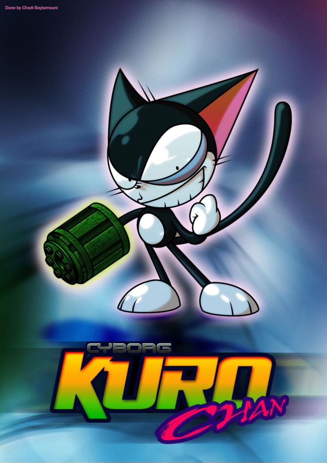 Kuruchan- Cybercat Kurochan