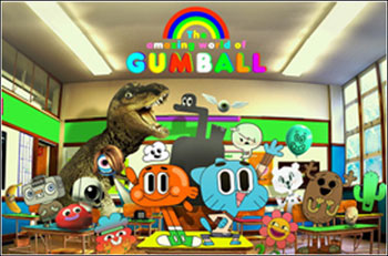 The incredible world of Gumball