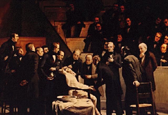 Анестезия-Уильям Мортон (1846)