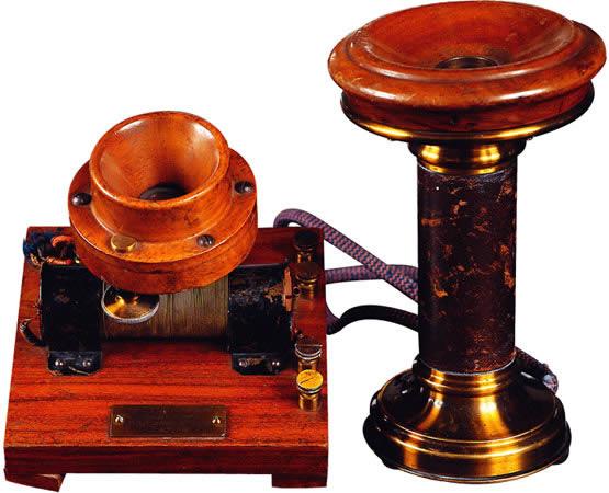 Телефон-Антонио Меуччи (1854)