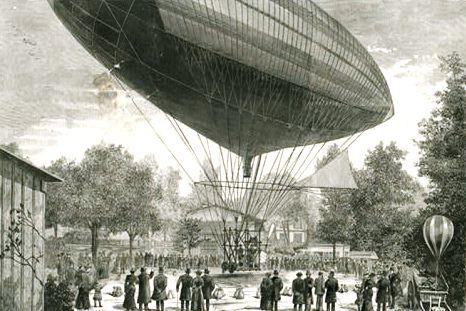 Дирижабль-Соломон Эндрюс (1863)