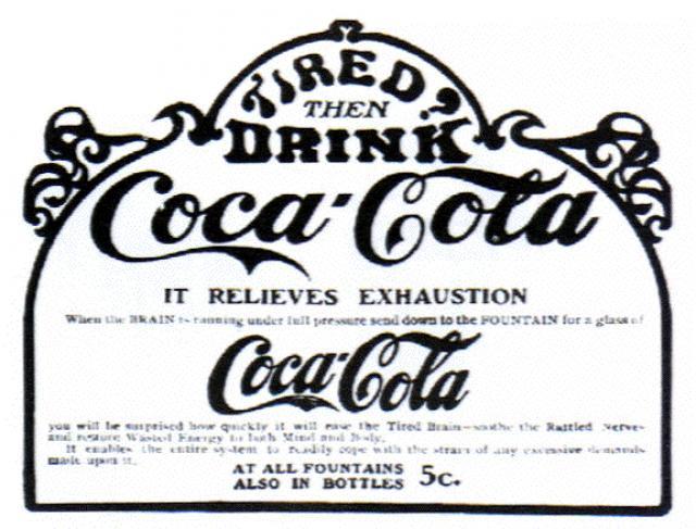 Кока-Кола-Джон Стит Пембертон (1886)
