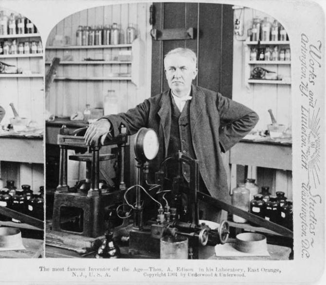 Витаскоп-Томас Альва Эдисон (1896)