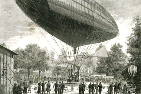 Dirigível-Solomon Andrews (1863)