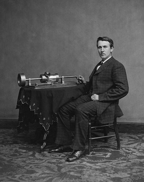 Fonógrafo-Thomas Alva Edison (1878)