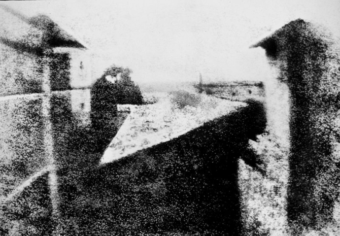 Fotografia-Nicéphore Niepce (1816)