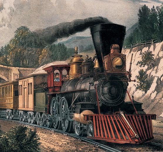 Locomotiva-Richard Trevithick (1804)