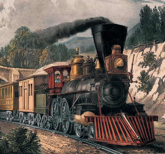 Locomotive-Richard Trevithick (1804)